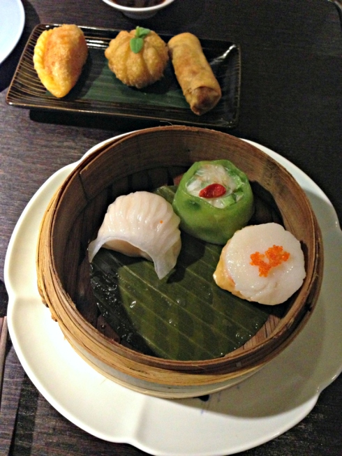 steamed and fried dim sum