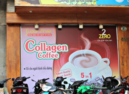 "Still not quite sure what ""collagen"" coffee is..."